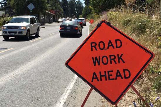 Road Work Ahead - Peggy Sue McRae Photo