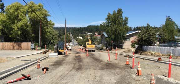 Road Construction on Tucker - Peggy Sue McRae Photo