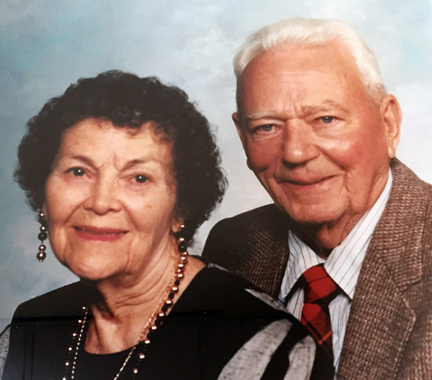 June and Don Mullis - Photo courtesy Mullis Center