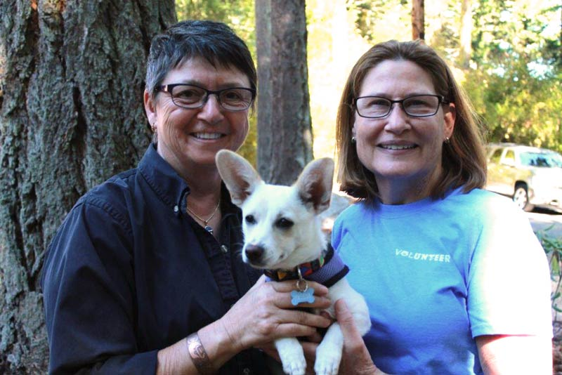 Jessica and Gail are Volunteers of the month - Contributed photo