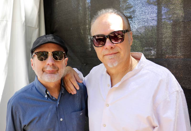 Alan Hager and Curtis Salgado - Contributed photo