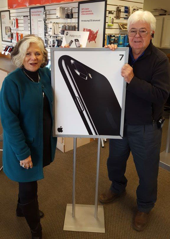Joy and Dennis Sevier of San Juan Wireless - Contributed photo