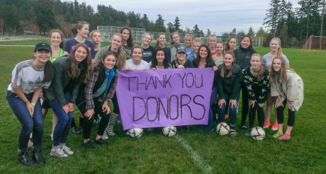 FHHS Girls Soccer says Thanks! - Contributed photo