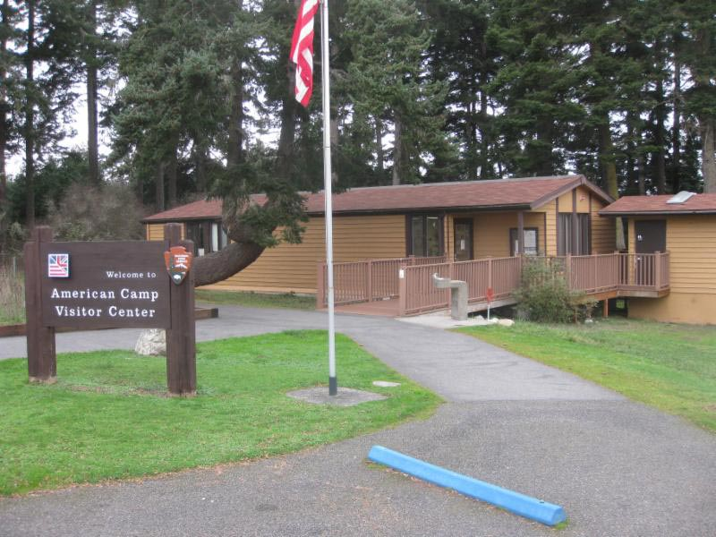American Camp Visitor Center - Contributed photo