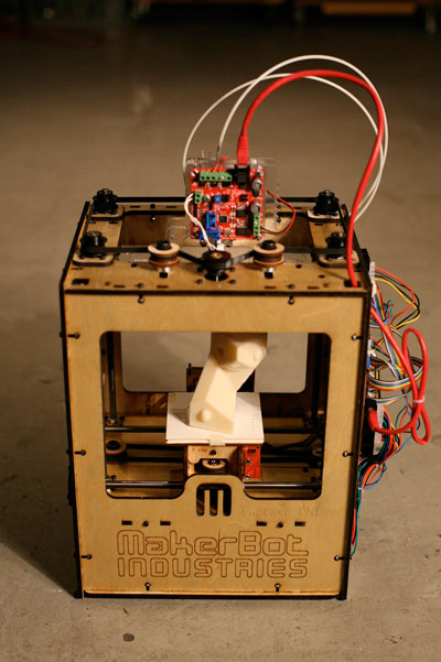 A Makerbot 3D Printer - Photo by Bre Pettis